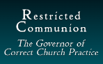 Restricted Communion