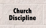Church Discipline 2